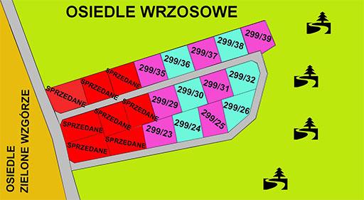 Szczecin nieruchomości, działki budowlane Goleniów, Goleniów os. Wrzosowe, działki w Goleniowie, Działki w Marszewie, Marszewo