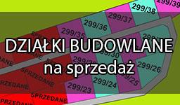 Działki: 1000-1100 m2, ceny od 62.999zł brutto, na hasło Kierunek→Szczecin 555zł TANIEJ