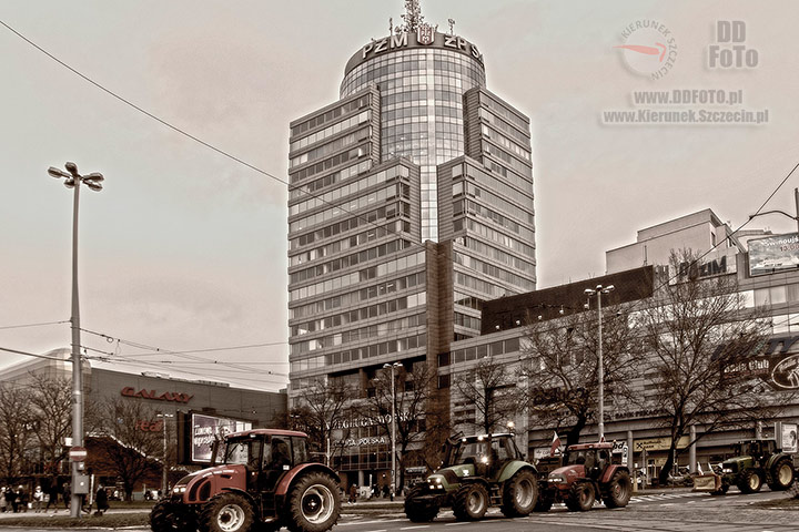 Protesty rolników w Szczecinie 01