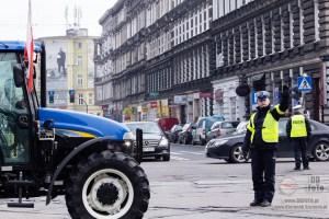 Protesty rolników w Szczecinie 12