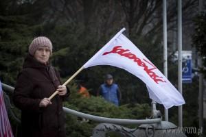 Protesty rolników w Szczecinie 42