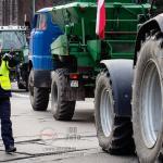 Protesty rolników w Szczecinie 10