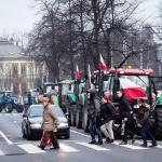 Protesty rolników w Szczecinie 13