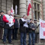 Protesty rolników w Szczecinie 36