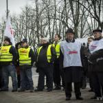 Protesty rolników w Szczecinie 37