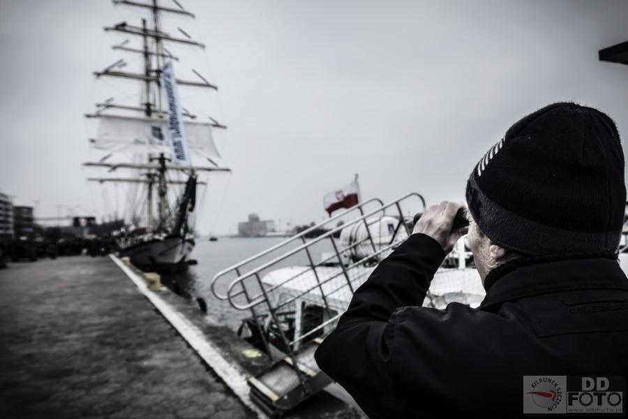 Szczecin. Fotoreportaż. 10.04.2013. STS Fryderyk Chopin wrócił do Szczecina