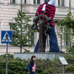 Ubrany Pomnik Marynarza-Sternika :: 01