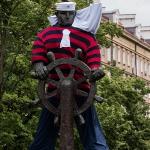 Ubrany Pomnik Marynarza-Sternika :: 06