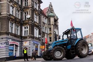 Protesty rolników w Szczecinie 07