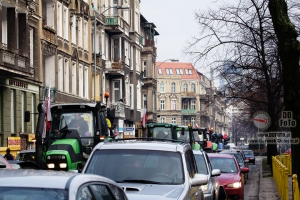 Protesty rolników w Szczecinie 09