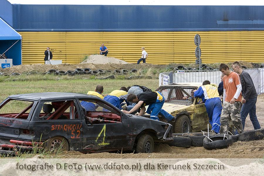 Szczecin. Fotoreportaż. Demolition Derby [25.07.2010] @ MTS Szczecin