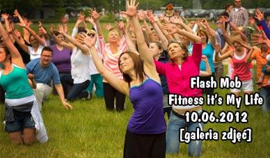 Szczecin. Fotoreportaż. Flash Mob Fitness is My Life 10.06.2012 w obiektywie