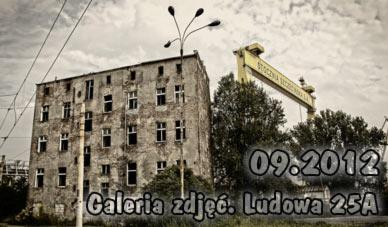 Szczecin. Fotoreportaż. 09.2012. Budynek przy ul. Ludowej 25/Dobromiry [do rozbiórki] w obiektywie