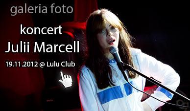 Szczecin. Fotoreportaż. 19.11.2012. Koncert Julii Marcell w obiektywie. Lulu Club