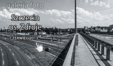 Szczecin. Fotoreportaż. Czerwiec 2013. Prawobrzeże – osiedle Zdroje w obiektywie @ Szczecin