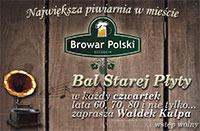 ARCHIWUM. Szczecin. Imprezy. 13.02.2014. Bal Starej Płyty @ Klub Muzyczny Browar Polski