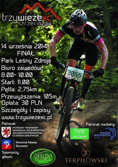 ARCHIWUM. Szczecin. SPORT. Wydarzenia. 14.09.2014. Szczecin TRZY WIEŻE XC 2014 @ Park Leśny Zdroje