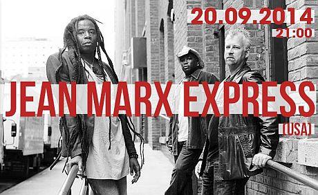ARCHIWUM. Szczecin. Koncerty. 20.09.2014. Jean Marx Express @ Free Blues Club