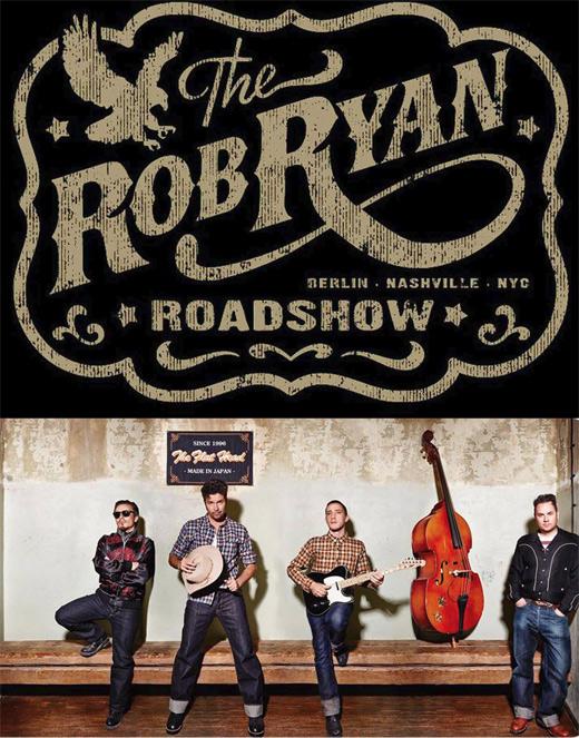 Szczecin, koncerty, FBC, Free Blues Club, The Rob Ryan Roadshow, w Szczecinie