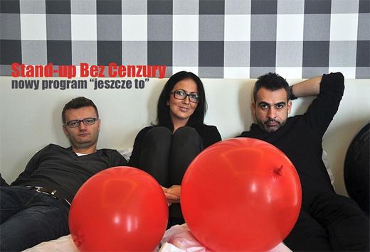 ARCHIWUM. Szczecin. IMPREZY. 16.12.2014. Stand Up BEZ CENZURY w Szczecinie @ Lulu Club