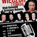 szczecin, kabaret, halama, w szczecinie, wieczór komedii