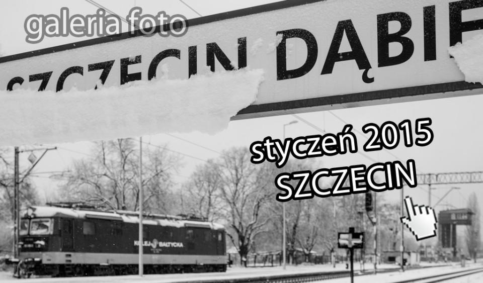 Szczecin. Fotoreportaż. Styczeń 2015 w Szczecinie na zdjęciach