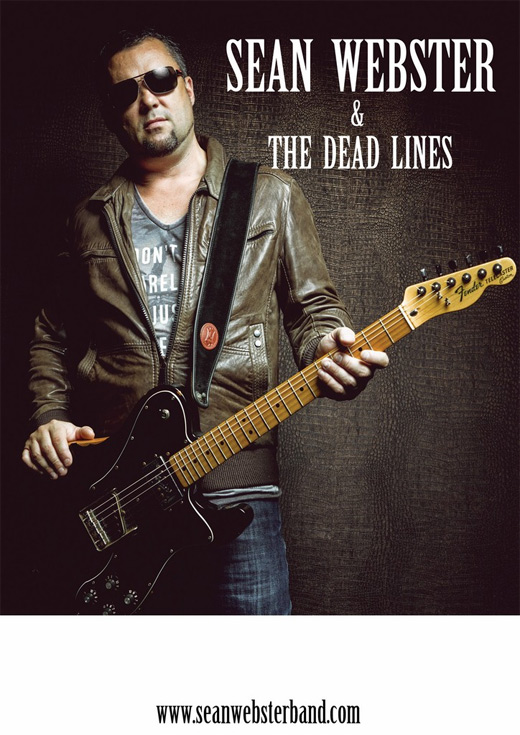 ARCHIWUM. Szczecin. Koncerty. 13.03.2015. Sean Webster & The Dead Lines @ Free Blues Club