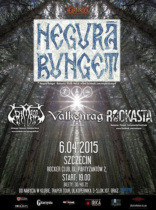 ARCHIWUM. Szczecin. Koncerty. 06.04.2015. Negură Bunget @ Rocker Club