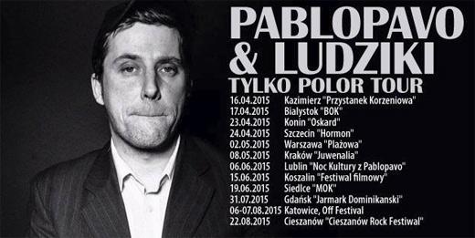 ARCHIWUM. Szczecin. Koncerty. 24.04.2015. Pablopavo & Ludziki @ Hormon