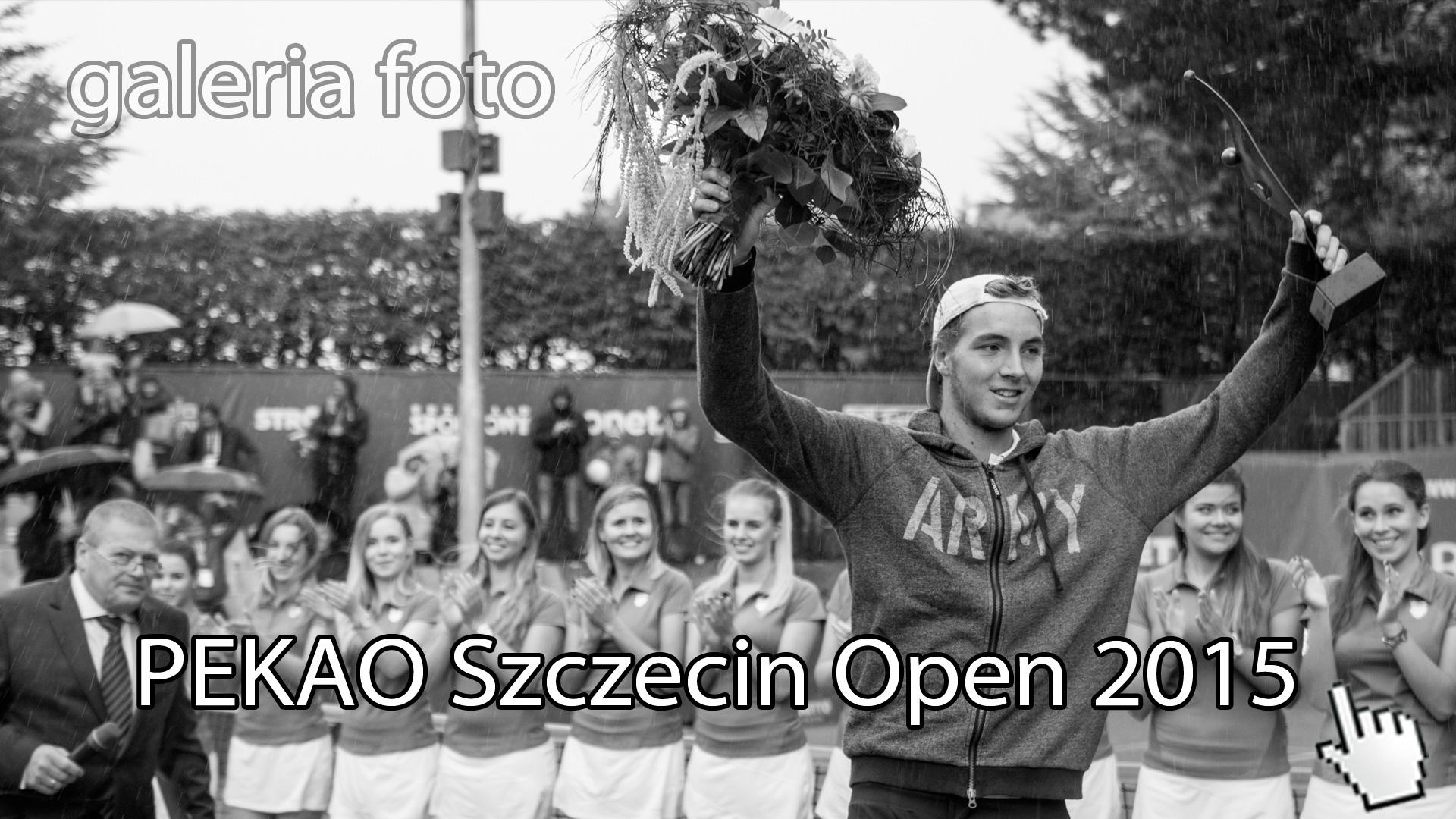 Szczecin. FOTOREPORTAŻ. 14-20.09.2015. Turniej Tenisowy ATP PEKAO Szczecin Open 2015