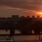 kierunek szczecin, szczecin na co dzień, fotografie szczecina, zdjęcia szczecina, 02.10.2015, zachód słońca w Szczecinie