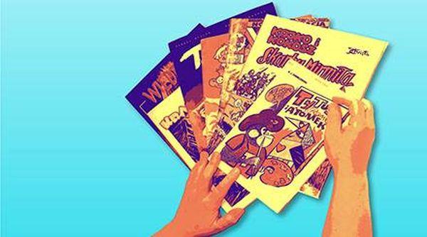 ARCHIWUM. Szczecin. Wydarzenia. 24.10.2015. Szczecińskie spotkanie komiksowe @ Biblioteka Filia nr 54 [ProMedia]