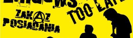 04.12.215 - Gramy Punk Rocka: Uliczny Opryszek, De Łindows, Too Late, Zakaz Posiadania