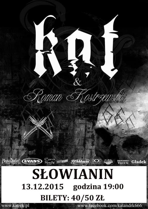 13.12.2015, koncert KAT & Roman Kostrzewski w Szczecinie