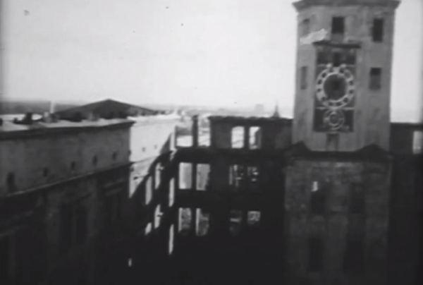 archiwalny materiał filmowy autorstwa Witolda Chromińskiego