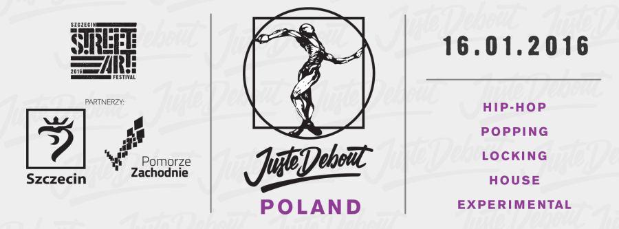 """ARCHIWUM. Szczecin. Imprezy. Wydarzenia. 16.01.2016. Międzynarodowy festiwal tańca streetdance – """"Juste Debout"""" @ Hala Opery na Zamku"""