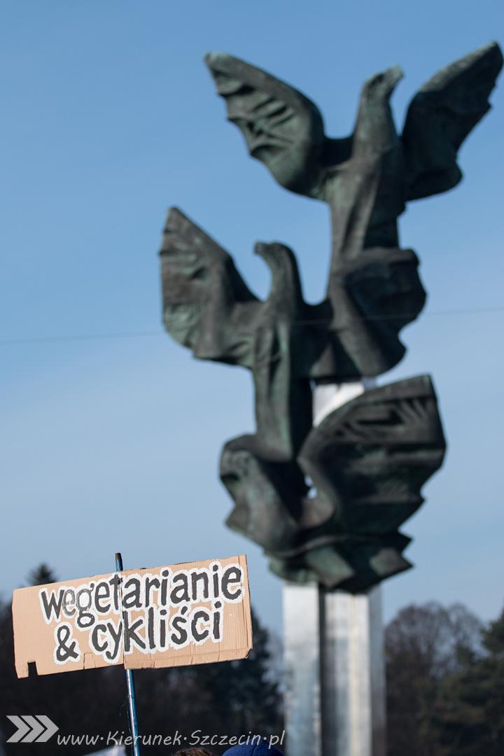 ARCHIWUM. Szczecin. Wydarzenia. 19.03.2016. Manifestacja KOD. Szczecin szanuje wyrok Trybunału Konstytucyjnego