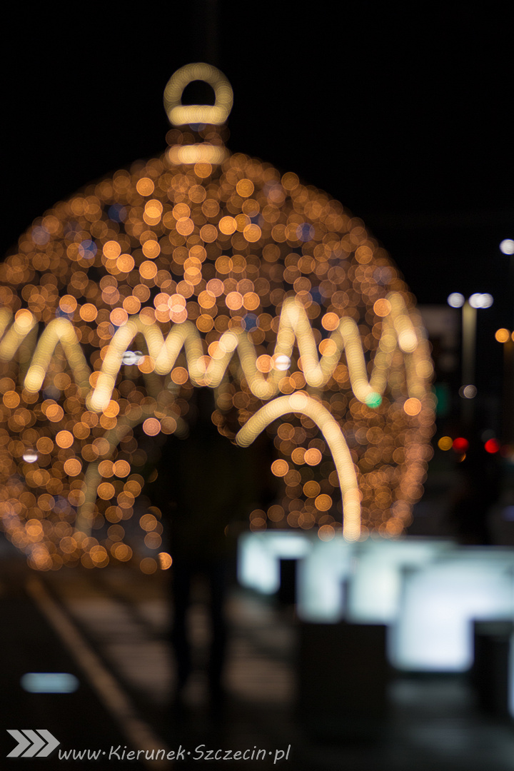 Szczecin ubrany na Święta, czyli galeria fotografii iluminacji przygotowanych na Święta Bożego Narodzenia 2015 w Szczecinie