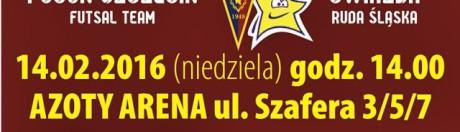 2016 02 14 Futsal Ekstraklasa Pogoń 04 Szczecin vs Gwiazda Ruda Śląska