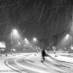17.02.2016 Szczecin na co dzień, zima wróciła