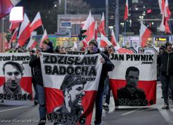 Marsz Pamięci Żołnierzy Wyklętych. Szczecin 2016