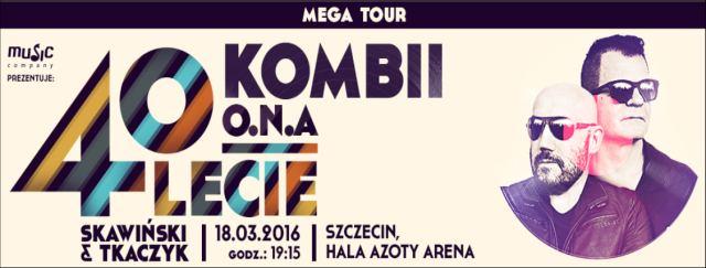 18.03.2016 40 lecie Kombii mega tour Szczecin