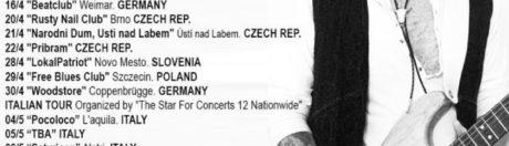 29.04.2016 koncert Demian Band w Szczecinie, Free Blues Club