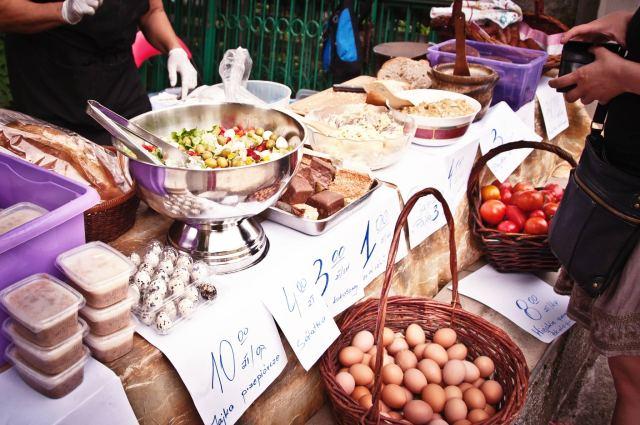 śniadanie przy Błoniach, Szczecin