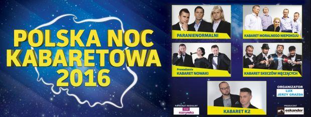 ARCHIWUM. Szczecin. Imprezy. 20.05.2016. Polska Noc Kabaretowa 2016 @ Azoty Arena