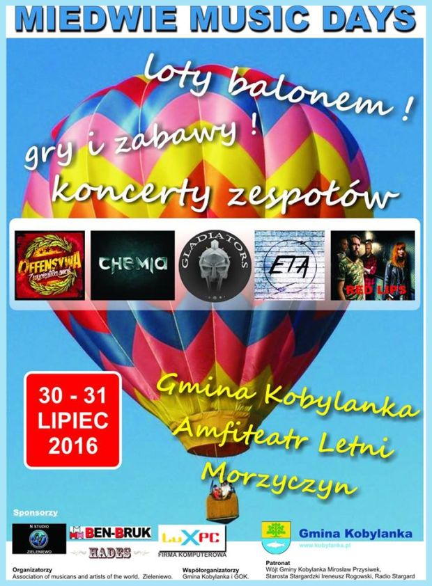 30-31.07.2016 Miedwie Music Days