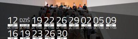 zwiedzanie Filharmonii Szczecińskiej lipiec/sierpień 2016