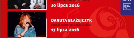 koncerty Amfiteatr Jazz Cafe, Szczecin 2016