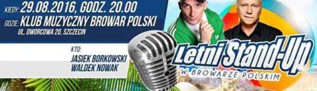 29.08.2016 letni Stand Up, Browar Polski