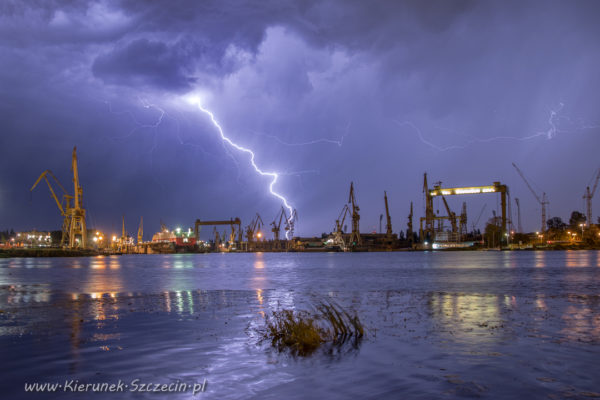 28.08.2016 burza nad Szczecinem